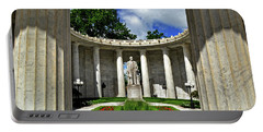 Portable Battery Charger featuring the photograph William Mckinley Memorial 002 by George Bostian