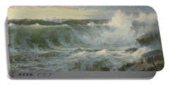William Trost Richards American 1833  1905   Seascape Portable Battery Charger