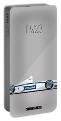 Williams Bmw Fw23 F1 Poster Portable Battery Charger
