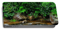 Williams River And Rhododdendron Portable Battery Charger