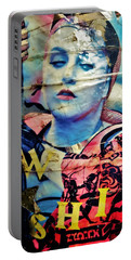 Williamsburg Brooklyn Woman Mural  Portable Battery Charger