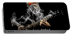 Willie Smoken' Portable Battery Charger