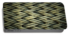 Portable Battery Charger featuring the photograph Willow Weave by Les Cunliffe