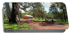 Portable Battery Charger featuring the photograph Wilpena Pound Homestead by Bill Robinson