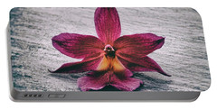 Wilting Orchid  Portable Battery Charger