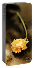 Wilting Puddle Flower Portable Battery Charger