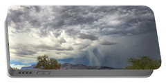 Portable Battery Charger featuring the photograph Wind And Rain by Rick Furmanek