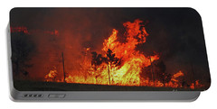 Wildfire Flames Portable Battery Charger