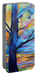 Wind Energy Portable Battery Charger by Jodie Marie Anne Richardson Traugott          aka jm-ART