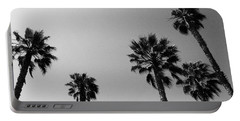 Wind In The Palms- By Linda Woods Portable Battery Charger by Linda Woods