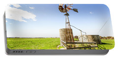 Wind Powered Farming Station Portable Battery Charger