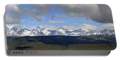 Dm9504-wind River Range Panorama  Portable Battery Charger
