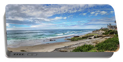 Portable Battery Charger featuring the photograph Windansea Wonderful by Peter Tellone