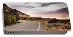 Winding Desert Road Portable Battery Charger