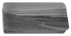 Portable Battery Charger featuring the photograph Winding Road, Death Valley, California by Frank DiMarco