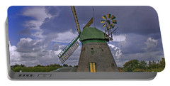 Windmill Amrum Germany Portable Battery Charger