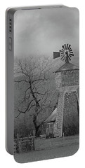 Windmill Of Old Portable Battery Charger