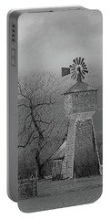 Windmill Of Old Portable Battery Charger by Suzy Piatt