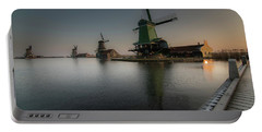 Windmill Sunrise Portable Battery Charger