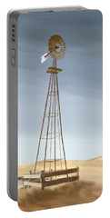 Windmill Portable Battery Charger by Terry Frederick