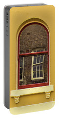 Portable Battery Charger featuring the photograph Window And Window 2 by Perry Webster