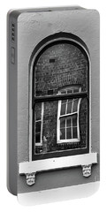 Portable Battery Charger featuring the photograph Window And Window by Perry Webster