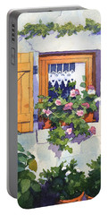 Window At St Saturnin Portable Battery Charger