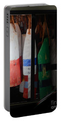 Window Buoys Key West Portable Battery Charger by Expressionistart studio Priscilla Batzell