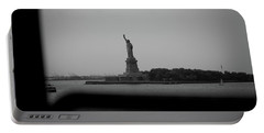 Window To Liberty Portable Battery Charger by David Sutton