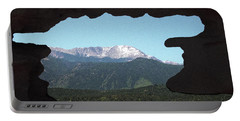 Window To Pikes Peak Portable Battery Charger