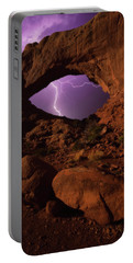 Windows Storm Portable Battery Charger by Darren White