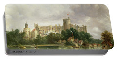 Windsor Castle - From The Thames Portable Battery Charger