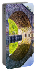 Windsor Rail Bridge Portable Battery Charger by Tom Cameron