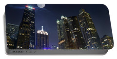 Windy City Portable Battery Charger by Frozen in Time Fine Art Photography