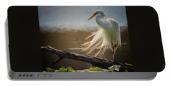 Windy Egret  Portable Battery Charger