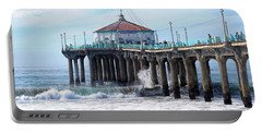 Windy Manhattan Pier Portable Battery Charger