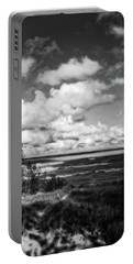 Portable Battery Charger featuring the photograph Windy Morning On Lake Michigan by Michelle Calkins