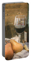 Wine And Pears Portable Battery Charger