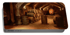 Wine Barrels In A Cellar, Buena Vista Portable Battery Charger