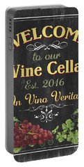 Wine Cellar Sign 1 Portable Battery Charger