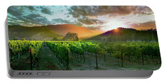 Wine Country Portable Battery Charger