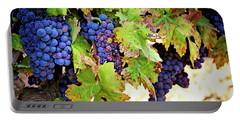 Wine Country - Napa Valley California Photography Portable Battery Charger