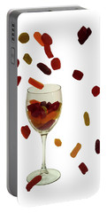 Portable Battery Charger featuring the photograph Wine Gums Sweets by David French