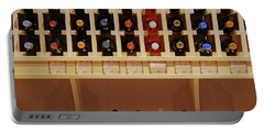 Portable Battery Charger featuring the photograph Wine Rack - 1 by Nikolyn McDonald