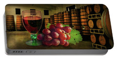 Portable Battery Charger featuring the photograph Wine Tasting by Hanny Heim