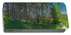 Wingate Prairie Veteran Acres Park Pines Crystal Lake Il Portable Battery Charger by Tom Jelen