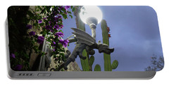 Winged Gargoyle In El Fuerte Portable Battery Charger