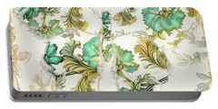 Winged Tapestry I Portable Battery Charger