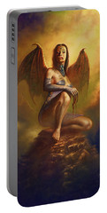 Winged Vamp Portable Battery Charger