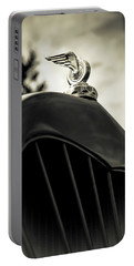 Winged Wheel Portable Battery Charger by Caitlyn Grasso